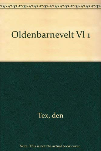 9780521084277: Oldenbarnevelt Vl 1