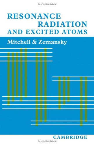 Resonance Radiation and Excited Atoms: Allan C. G.