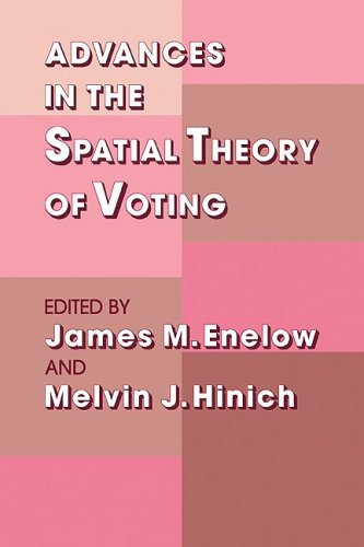 9780521084536: Advances in the Spatial Theory of Voting