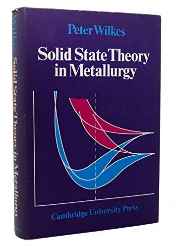 Solid State Theory in Metallurgy: Wilkes, Peter