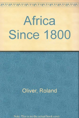 9780521085229: Africa Since 1800