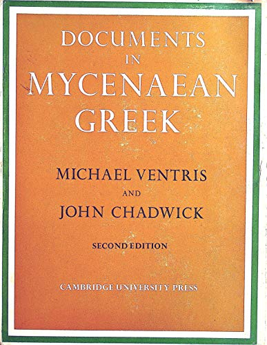 9780521085588: Documents in Mycenaean Greek