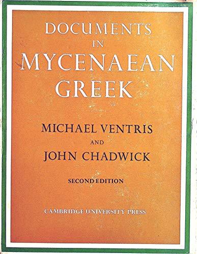 9780521085588: Documents in Mycenaean Greek