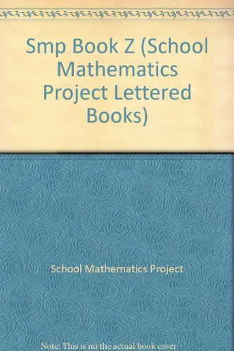 9780521086226: Smp Book Z (School Mathematics Project Lettered Books)