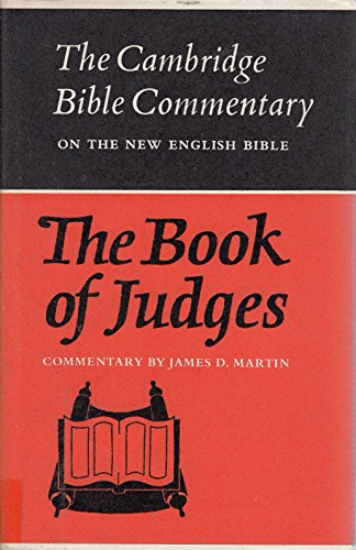 9780521086394: The Book of Judges (Cambridge Bible Commentaries on the Old Testament)