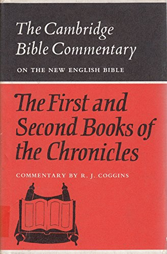 9780521086479: The First and Second Books of the Chronicles (Cambridge Bible Commentaries on the Old Testament)