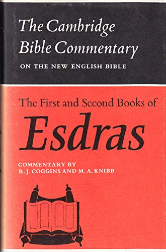 9780521086561: The First and Second Books of Esdras (Cambridge Bible Commentaries on the Apocrypha)