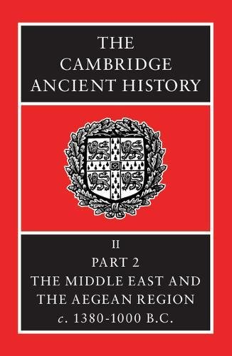 9780521086912: The Cambridge Ancient History: Part 2