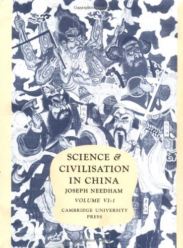 Science and Civilisation in China: Volume 6, Biology and Biological Technology, Part 1, Botany: ...