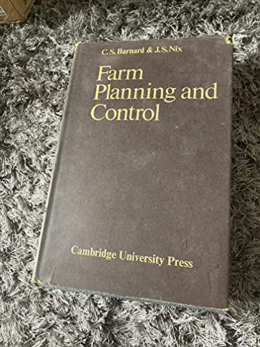 9780521087384: Farm Planning and Control