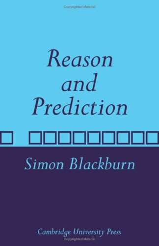 9780521087421: Reason and Prediction