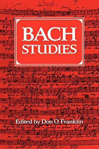 9780521088329: Bach Studies