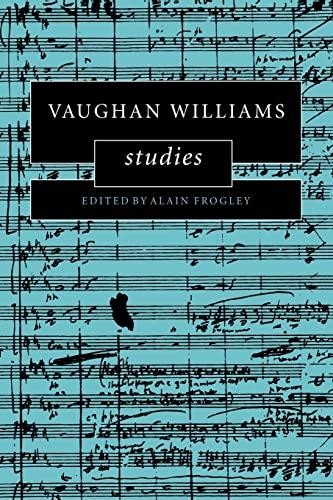 9780521088640: Vaughan Williams Studies (Cambridge Composer Studies)