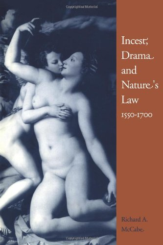 9780521088749: Incest, Drama and Nature's Law, 1550–1700