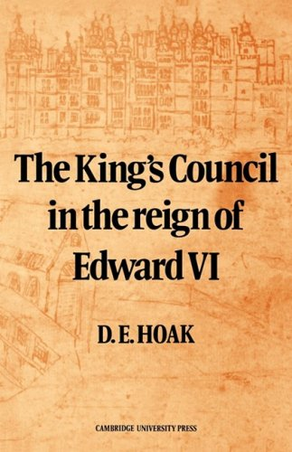 9780521089890: The King's Council in the Reign of Edward VI