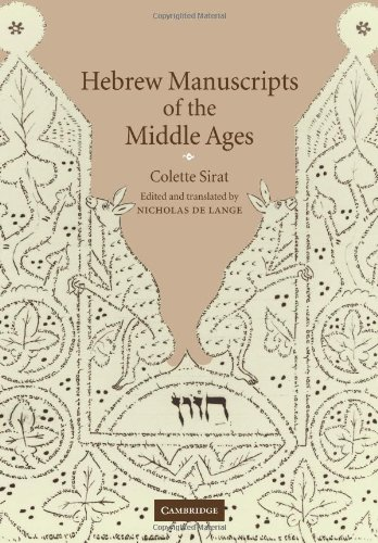 9780521090230: Hebrew Manuscripts of the Middle Ages
