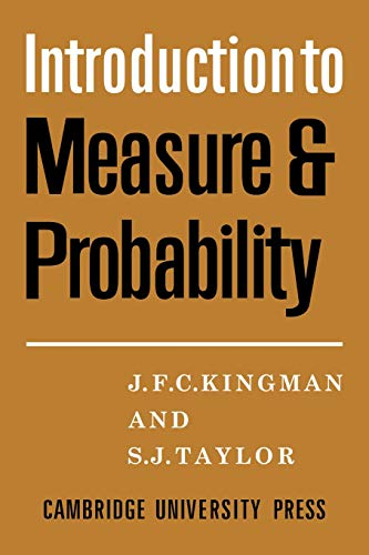 9780521090322: Introdction to Measure and Probability