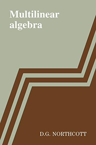 9780521090605: Multilinear Algebra