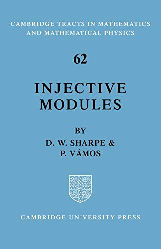 9780521090926: Injective Modules (Cambridge Tracts in Mathematics)