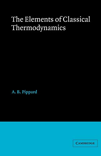 9780521091015: Elements of Classical Thermodynamics:For Advanced Students of Physics