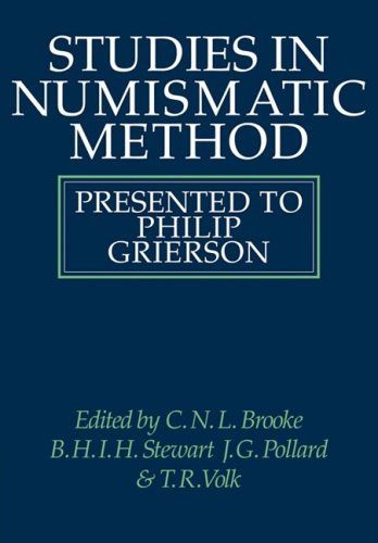 9780521091336: Studies in Numismatic Method: Presented to Philip Grierson