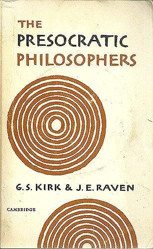 9780521091695: Presocratic Philosophers