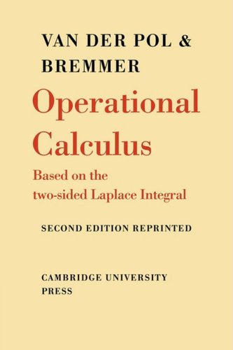 9780521091800: Operational Calculus: Based on the Two-Sided Laplace Integral