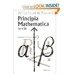 Principia Mathematica to *56: Bertrand Russell,A. N.