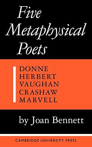 Five Metaphysical Poets: Bennett, Joan