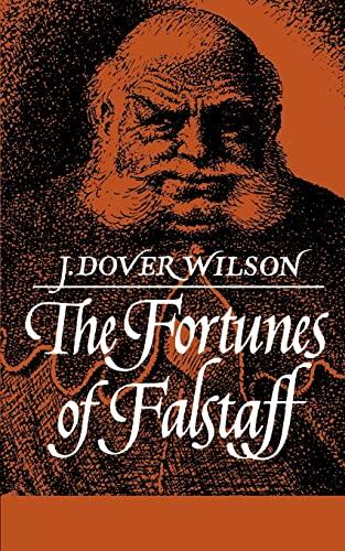 9780521092463: Fortunes of Falstaff