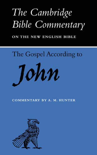 9780521092555: The Gospel according to John (Cambridge Bible Commentaries on the New Testament)