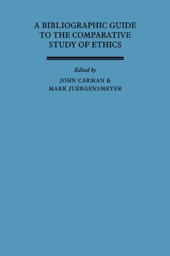 9780521093262: A Bibliographic Guide to the Comparative Study of Ethics