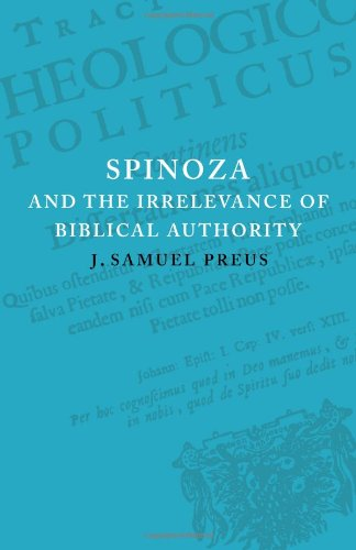 9780521093538: Spinoza and the Irrelevance of Biblical Authority