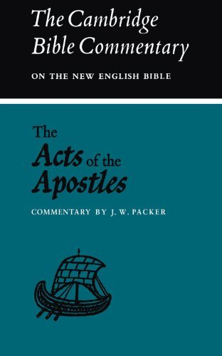 9780521093835: The Acts of the Apostles (Cambridge Bible Commentaries on the New Testament)