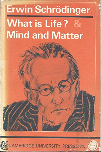 9780521093972: What is Life? Mind and Matter