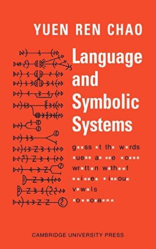 9780521094573: Language and Symbolic Systems