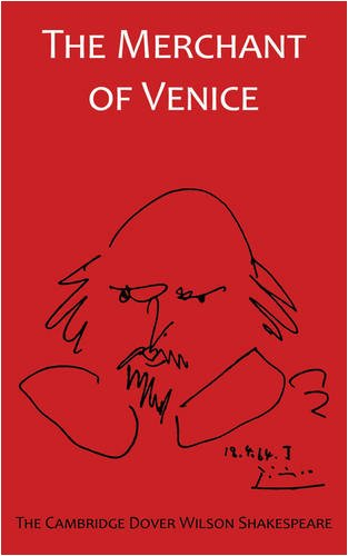 The Merchant of Venice: The Cambridge Dover: William Shakespeare, Sir