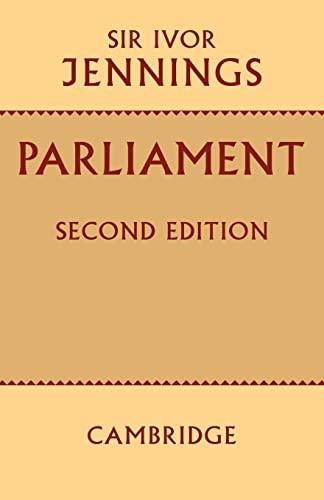 9780521095327: Parliament