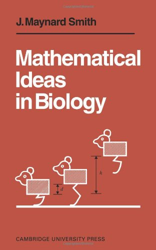 9780521095501: Mathematical Ideas in Biology