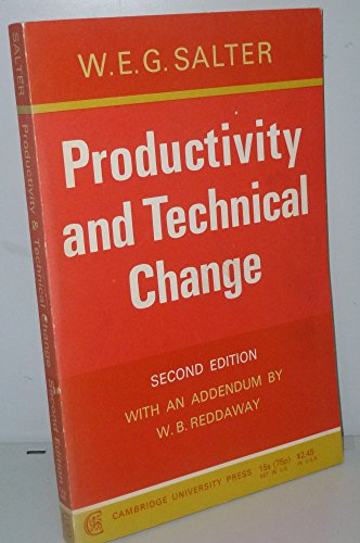 Productivity and technical Change: Salter, W. E.