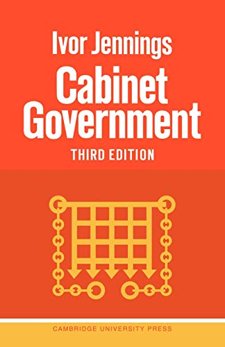 9780521095709: Cabinet Government