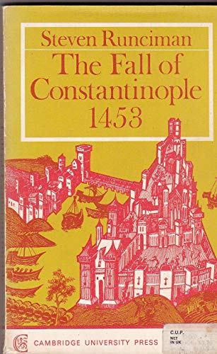 9780521095730: Fall of Constantinople
