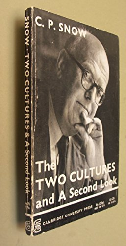 9780521095761: The Two Cultures and a Second Look: An Expanded Version of the Two Cultures and the Scientific Revolution
