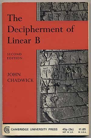 9780521095969: The Decipherment of Linear B