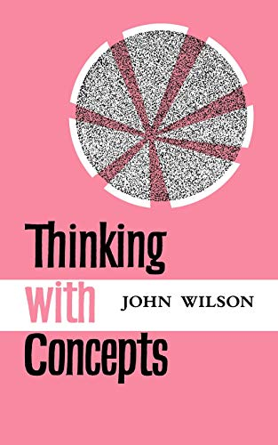 9780521096010: Thinking with Concepts