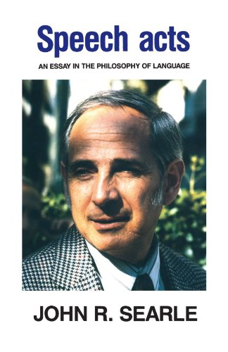 9780521096263: Speech Acts: An Essay in the Philosophy of Language
