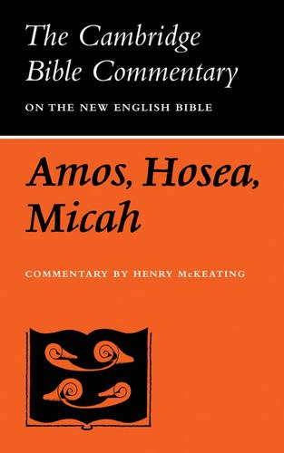 The Books of Amos, Hosea, Micah