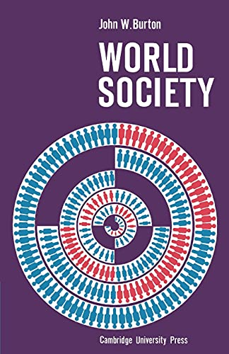 9780521096942: World Society