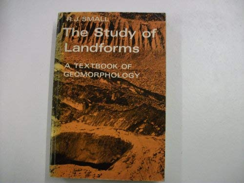9780521097086: The Study of Landforms: A Textbook of Geomorphology