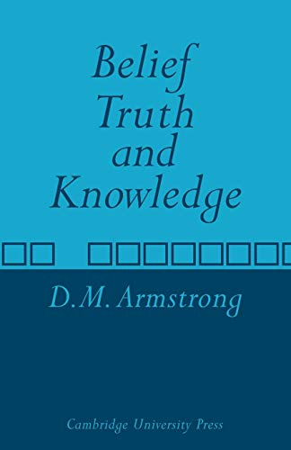 9780521097376: Belief, Truth and Knowledge
